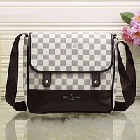 Perfect LV Women Fashion Shopping Bag Leather Satchel Shoulder Bag Crossbody