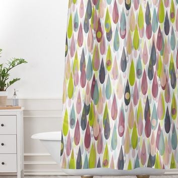 Lisa Argyropoulos Let It Rain Shower Curtain And Mat