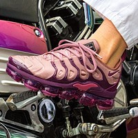 Nike Air Vapormax Plus Popular Women Casual Air Cushion Sport Running Shoes Sneakers Pink/Purple