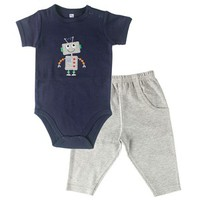 Hudson Baby Bodysuit and Pants Set | Affordable Infant Clothing