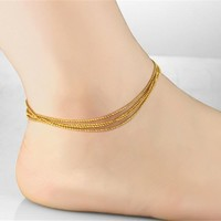 Gift Sexy New Arrival Jewelry Shiny Stylish Cute Ladies Anklet [6768772807]