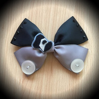 Mickey Mouse Steamboat Willie Classic Disney Character Inspired Hair Bow