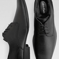Calvin Klein Brodie Black Lace-Up Oxfords - Dress Shoes | Men's Wearhouse