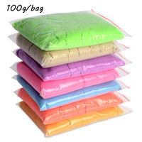 100g/bag Kinetic Clay Dynamic Sand Amazing Indoor Magic Play Sand Educational Children Toys Mars Space Sand Color Clay Massinha