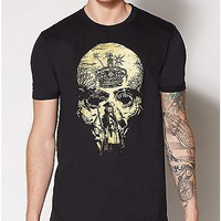 Skull Jack Sparrow T Shirt - Pirates of the Caribbean - Spencer's