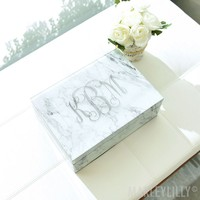 Monogrammed Large Jewelry Box | Marleylilly