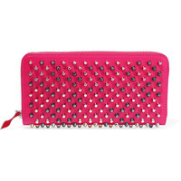 Christian Louboutin - Panettone studded leather continental wallet