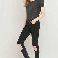 Cheap Monday Slim Ripped Black Skinny Jeans - Urban Outfitters