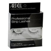 Ardell Natural Lashes, Demi Wispies Black, 6-Count