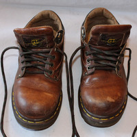 Vintage Dr. Martens AirWair Shoes, Size UK 6, Made in England