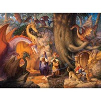 Confabulation of Dragons a 1000-Piece Jigsaw Puzzle by Sunsout Inc.