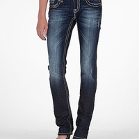 Miss Me Sequin Straight Stretch Jean