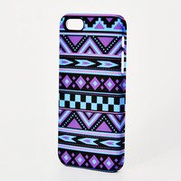 Turquoise Violet Aztec Ethnic iPhone 6 Plus 6 5S 5C 5 4 Protective Case #347