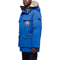 PBI Expedition Down Parka with Genuine Coyote Fur Trim Royal Pbi Blue