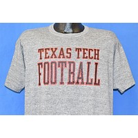 80s Texas Tech Red Raiders Football t-shirt Extra Large