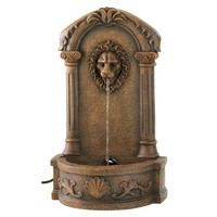 Stately Manor Lion Fountain