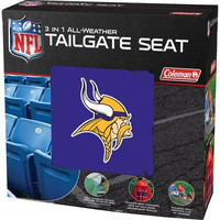 Minnesota Vikings NFL 3 in 1 All-Weather Tailgate Seat and Poncho
