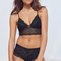 Smooth Elegance Lace Boyshort | Urban Outfitters