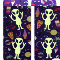 Outerspace Ankle Socks