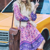 Pre-Order // Folk Town Boho Maxi Dress - Blossom