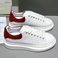 Alexander McQueen Woman Men Fashion Casual Sneakers Sport Shoes-19