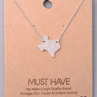 Texas Necklace - Silver
