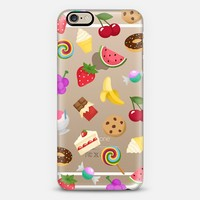 Sweet Emojis - iPhone 6 transparent case iPhone 6 case by Nour Tohme   Casetify