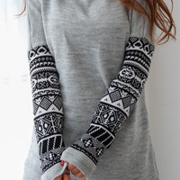 Cupshe All Day Long Indian Sweatshirt