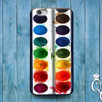 Cute Paint Palette Water Color Phone Cover iPod Touch iPhone 4 4s 5 5s 5c 6 Case