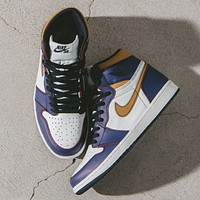 Nike Air Jordan 1 Retro High SB LA To Chicago Sneakers Shoes
