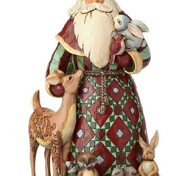 Jim Shore Santa with Woodland Animals-4060146