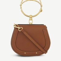 CHLOE - Nile small leather cross-body bag | Selfridges.com