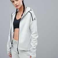 adidas Zne Hoodie In Grey at asos.com