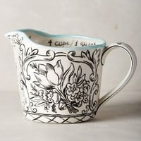 Molly Hatch Storybook Flora Measuring Cup in Multi Size: One Size Kitchen
