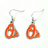 Baltimore Orioles Dangle Earrings