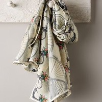 Silk Cycling Scarf by Anthropologie Pink One Size Scarves