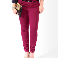 Lustrous Colored Skinny Jeans