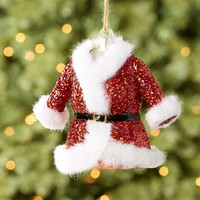 MR. CLAUS COAT ORNAMENT