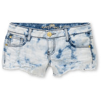 Almost Famous Stella Bleach Washed Denim Shorts at Zumiez : PDP