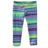 Under Armour Girls' HeatGear Armour Printed Capri