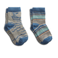 Tugboat Baby Sock Two-Pack