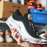 Nike Air Max 97 Leopard Stripes Red Sneakers-2