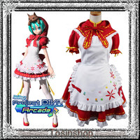 Costume play clothes ♪ VOCALOID miku PROJECT DIVA 2ND