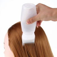 2017 1PCS Professional Hot Hair Dye Bottle Applicator Brush Dispensing Salon Hair Coloring Dyeing Hair Dry Cleaning Bottle