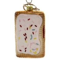 Holiday Ornaments POP TART Glass Toaster Treats Icing Pastry Go4267