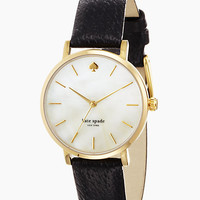 Kate Spade Metro Watch Black/Gold ONE