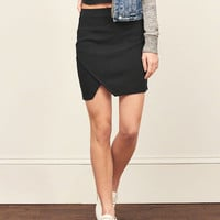 Ponte Bodycon Mini Skirt