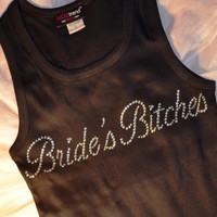 Bridesmaid Tank Tops. Bride's Bitches Tank Top. Wedding Party Tank Top. Maid of honor Tank Top. Personal Attendant Tank Top. Team bride Tank