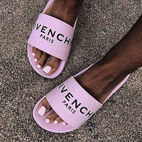 GIVENCHY PARIS andals Comfortable Loose Slippers-1