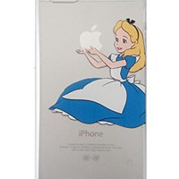 Disney Princess Eating/ Holding Apple logo Alice in WonderlandFor Apple iPhone 5 5S (Alice 5/5S)